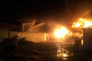 Khu Công nghiệp ở Đà Nẵng cháy dữ dội, lửa bốc cao rực trời