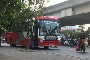 Hà Nội: 'Nhức nhối' những vi phạm của các nhà xe tại khu vực bến xe Mỹ Đình