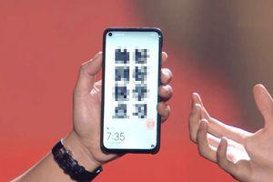 Huawei Nova 4 màn hình 'nốt ruồi' xuất hiện