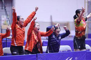 Bóng bàn Hà Nội đoạt cú đúp đồng đội ở Đại hội TT toàn quốc