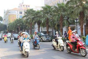 TP.HCM cấm phương tiện lưu thông trên nhiều tuyến đường nội đô từ 1.12