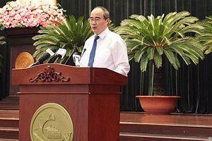 Bí thư Nguyễn Thiện Nhân: 'Những dự án gắn với dân giải ngân kém quá'