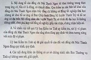 Chủ tịch huyện Thạnh Trị bị kỷ luật vì thiếu trung thực