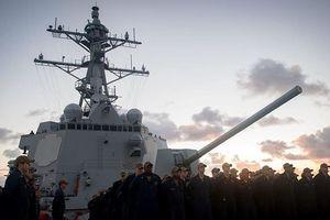 Bất chấp Trung Quốc, hai tàu quân sự Mỹ lại 'luồn lách' qua Đài Loan