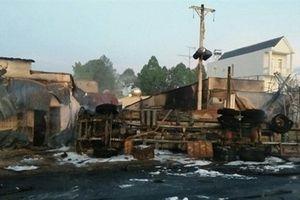 Khởi tố vụ xe bồn lật, bốc cháy khiến 6 người chết ở Bình Phước