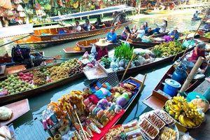 Du lịch TP.HCM sẽ có chợ nổi như Thái Lan