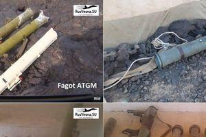 Syria: Điều bất ngờ bên trong kho vũ khí khổng lồ của khủng bố IS ở al-Safa