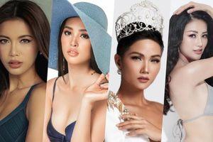 Kêu gọi bình chọn cho nhau, chưa bao giờ hội chị em hoa hậu Việt lại đoàn kết đến thế!