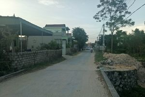 Thị xã Hoàng Mai (Nghệ An): Khổ vì ở 'nhầm' trên đất tỉnh khác