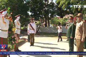 Bí thư thứ nhất ĐCS Cuba tiếp Đoàn Đại biểu Bộ Quốc phòng Việt Nam