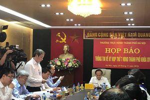 Hà Nội sẽ lấy phiếu tín nhiệm với 36 chức danh do HĐND TP bầu