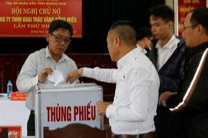 Tòa án tổ chức hội nghị giải quyết món nợ gần 1.000 tỷ đồng của Công ty Bồng Miêu