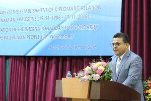 Tăng cường tình đoàn kết, hữu nghị, hợp tác truyền thống Việt Nam - Palestine