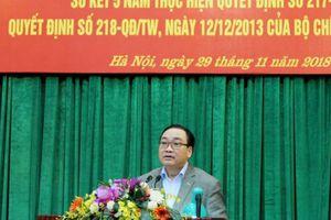 Bí thư Thành ủy Hoàng Trung Hải: Không để vấn đề nhỏ tích tụ thành bức xúc lớn