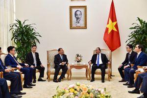 Thủ tướng tiếp Bộ trưởng Bộ Kế hoạch Campuchia