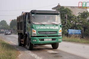 Thái Bình: Quán triệt các quy định của pháp luật về vận tải hàng hóa và kiểm soát tải trọng phương tiện