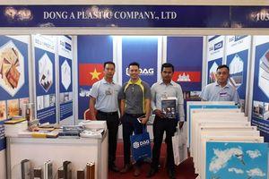 DAG tham dự Triển lãm xây dựng tại Campuchia