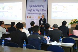 Job Fair with Japanese Construction Companies for engineering students