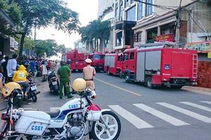 Kịp thời dập tắt vụ hỏa hoạn tại khách sạn Cicilia ở TP Nha Trang