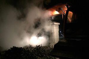 Một đêm xảy ra 2 vụ cháy, một cụ ông 74 tuổi thiệt mạng