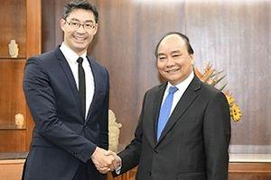 Thủ tướng Nguyễn Xuân Phúc tiếp nguyên Phó Thủ tướng Đức
