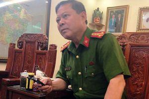 Báo cáo Bộ Công an việc Trưởng Công an TP Thanh Hóa bị tố nhận tiền