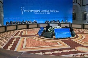 Đàm phán Astana bộc lộ nhiều mâu thuẫn