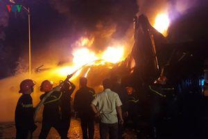 Hình ảnh đám cháy tại Khu Công nghiệp Hòa Cầm, TP Đà Nẵng