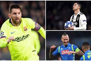Đội hình tiêu biểu Champions League 2018/2019: Có Messi, không Ronaldo