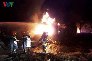Đám cháy lớn tại Khu Công nghiệp Hòa Cầm đã được dập tắt