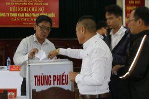 Quảng Nam: Công ty Vàng Bồng Miêu chính thức phá sản