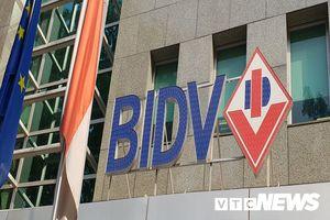 Cổ phiếu BIDV tăng nhẹ sau chuỗi ngày liên tục suy giảm