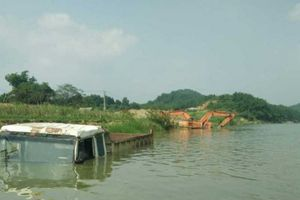 Dự án thủy điện tích nước đã có thông báo đến cơ quan chức năng