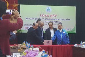 Ra mắt trang tin điện tử, công bố các nhà đồng hành cùng Liên đoàn Cờ Việt Nam