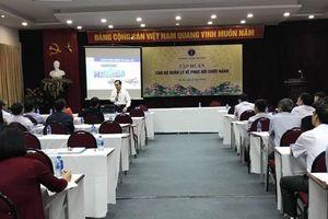 70 học viên tham gia tập huấn cán bộ quản lý về phục hồi chức năng tại Hà Nội