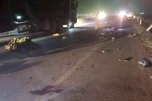 Khẩn trương truy tìm xe ôtô gây tai nạn chết người trên quốc lộ rồi bỏ trốn