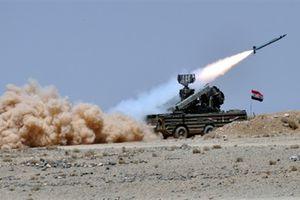 Syria đánh chặn tiêm kích và nhiều tên lửa Israel