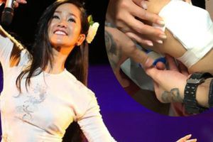 'Trốn viện' đi diễn sau ồn ào chồng Tây, Hồng Nhung gặp hậu quả không ngờ
