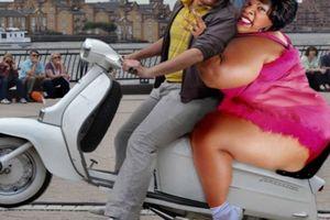 Hình ảnh 'đỡ không nổi' của hội người béo lạc quan
