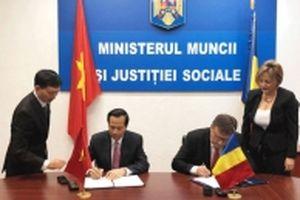 Hợp tác lao động và an sinh xã hội giữa Việt Nam - Rumani