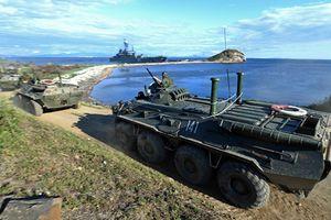 Hải quân đánh bộ Nga: Đội quân già hơn tuổi nước Mỹ!