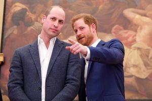 Hoàng tử Harry cãi nhau to với anh trai William vì vợ?