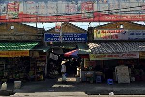 Chợ dân sinh trong lòng phố