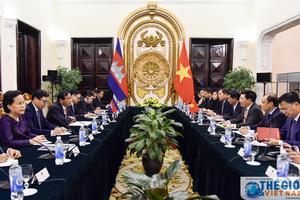 Việt Nam - Campuchia: Kim ngạch thương mại đạt 4 tỷ USD