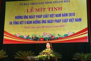 Phê bình 16 lãnh đạo vì 'quên' Ngày Pháp luật Việt Nam