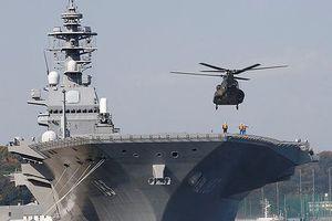 Nhật Bản định nâng cấp tàu chiến thành tàu sân bay, Trung Quốc lên tiếng cảnh báo