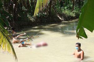 Truy tìm kẻ giết người phụ nữ, phi tang dưới mương nước