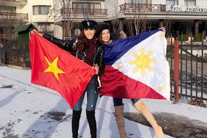 Gạt nỗi buồn bị chơi xấu, Minh Tú giương cờ Việt Nam đầy tự hào ở Miss Supranational