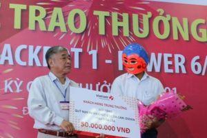 Xổ số Vietlott: Quảng Ngãi lần đầu tiên có tỷ phú Vietlott, trúng 3,29 tỷ đồng