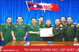Chúc mừng lực lượng vũ trang Lào nhân ngày Quốc khánh